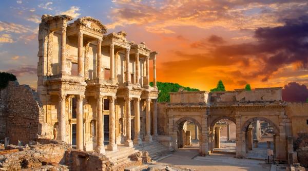 Visit the best ancient ruins in Turkey called Ephesus (2 hours away).